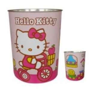 Sanrio Papierkorb Hello Kitty Groesse 27 x 21 x 21 cm Farbe rot