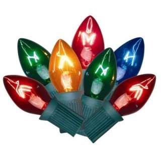 25 Light Multi Color C7 Lights (Set Of 2) 5562564
