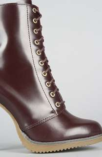 Dr. Martens The Kimora Bootie in Oxblood : Karmaloop   Global