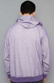 LRG Core Collecion he Core Collecion Hooded Henley in Purple