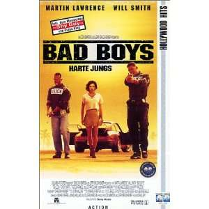 Bad Boys   Harte Jungs [VHS] Martin Lawrence, Will Smith, Téa Leoni