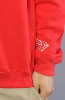 Diamond Supply Co. The Infantry Crewneck Sweatshirt in Red : Karmaloop