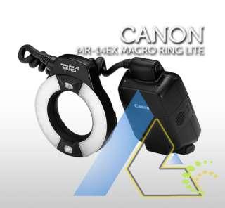 NEW Canon MR 14EX TTL Macro Ring Light Flash MR14EX+1 year Warranty