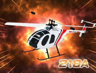 Nine Eagles 218A Single Blade R/C Helicopter 2.4GHz 4CH Transmitter
