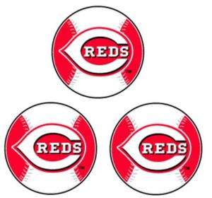 MLB CINCINNATI REDS STICKERS DECALS STICKER DECAL NEW