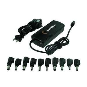 Duracell DRAC5101 Universal Laptop AC Adapter   USB, 90 Watts at