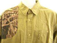 COLUMBIA Mens Camo XL Shirt Green Gray Extra Large Nice rare