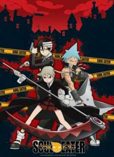 SOUL EATER   Poster Black Star/The Kid und Maka
