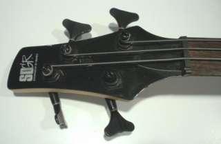 IBANEZ SOUNDGEAR Black   Electric Bass Guitar SR400 w case