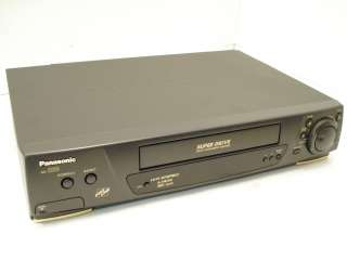 Panasonic AG 2560P Super Drive VCR VHS Player Recorder Tested Working