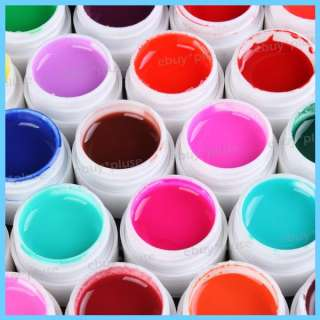 Pure Colors Nail Art UV Builder Gel Nail Tips DIY Decorations