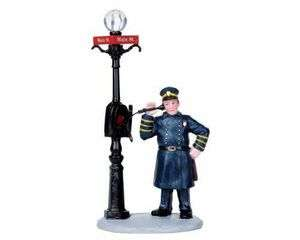 Lemax Village Collection Police Call Box # 02830