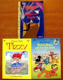 Lot Of 18 CHILDREN GOLDEN BOOKS SoftcoverTizzy, Mickey Mouse, Baby