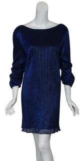 PRAIRIE NEW YORK Shimmering Metallic Party Dress 22 NEW