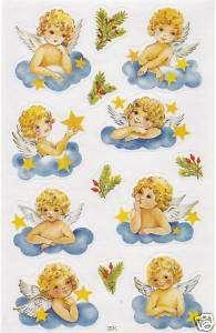 Engel / Engelchen / Angel Sticker Aufkleber Bogen