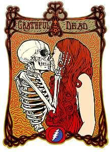 Grateful Dead T Shirt  VTG Style 1982  Fall Tour  TLEO