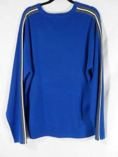 AEROPOSTALE Mens (XL) BLUE Crew Neck Sweater LS Long Sleeve AERO