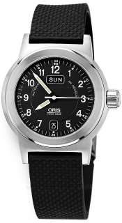 NEW GENUINE MENS ORIS BC3 DAY / DATE AUTOMATIC WATCH 63575004164RS