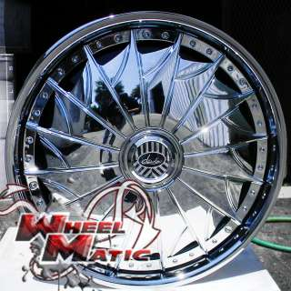 New Davin Dub Spinners On The Grind 26 5x114.3 Chrome Rims Wheels