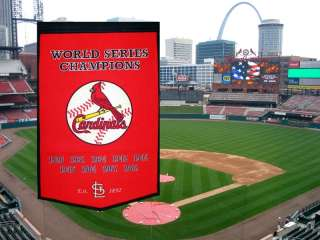 MLB NWT New St. Louis Cardinals Dynasty Wool Banner