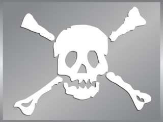 Skull and Crossbones #2 vinyl decal stickers Pirates
