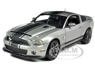 2011 SHELBY MUSTANG GT 500 SUPER SNAKE GREY 1/18 SHELBY COLLECTIBLES