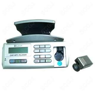 Car Steering Wheel Bluetooth Handsfree Kit +  Player + FM + Ear