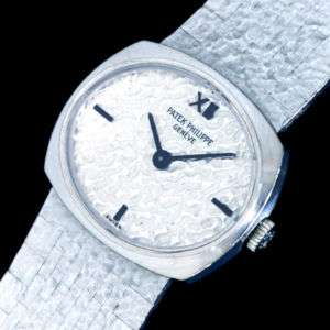 Patek Philippe Pure 18KWG White Gold Ladies Watch 17K$