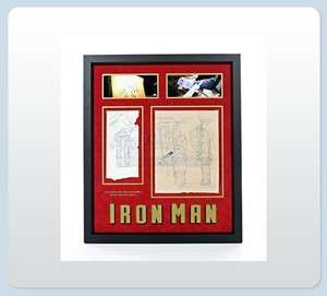 Iron Man   MK1 Iron Man Suit Designs Display