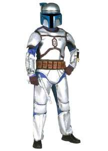 Star Wars JANGO FETT Child Costume w/Helmet Boy New Halloween Dress Up