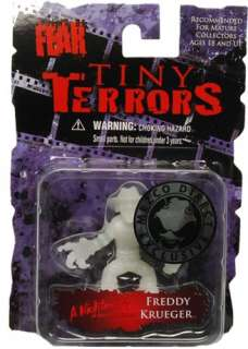 Cinema Of Fear Tiny Terrors Glow Figure Freddy Krueger