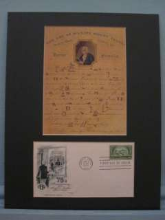 Ben Franklin   Making Money & Banking First day Cover