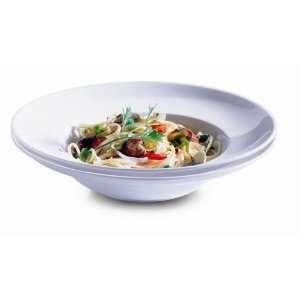 Domestic 920838 Orto Porzellan Pastateller 2 er Set rund 26,5cm weiss