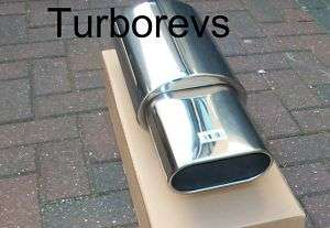 JAGUAR X TYPE S TYPE STAINLESS STEEL EXHAUST BACK BOX 6