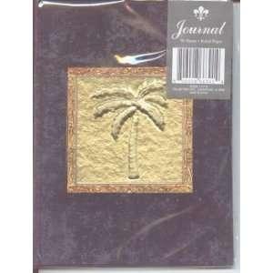 Embossed Palm Tree Artistic Journal or Memory Scrapbook