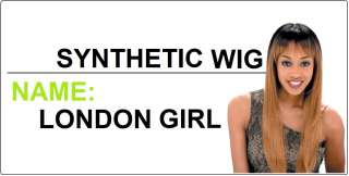 FreeTress premium synthetic hair full cap LONDON GIRL