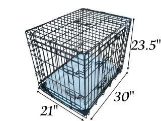 ALL SIZES   Dog Puppy Pet Cage Folding Carrier Crate