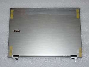 NEW GENUINE DELL LATITUDE E6410 LID COVER SILVER HINGES LED CABLE