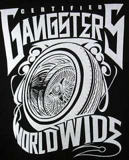T shirt JOKER Brand ** Gangsters ** black   Taille XL