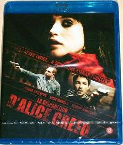 LA DISPARITION DALICE CREED Gemma Arterton BLU RAY NEUF