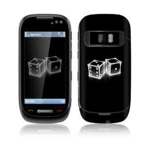 Crystal Dice Decorative Skin Cover Decal Sticker for Nokia