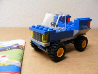 LEGO Blue Car Building Set+ Instructions From Lego 5898