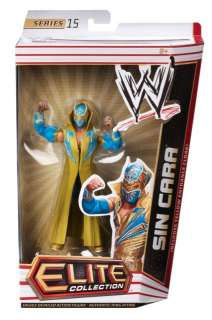 Sin Cara Elite Series 15 Action Figure WWE Wrestling Enterance Robe
