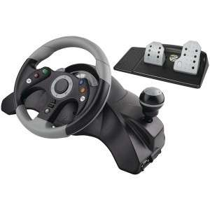 MADCATZ MCB247200/02/1 STEERING WHEEL for XBOX 360