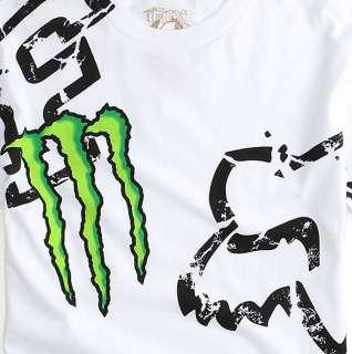 T Shirt FOX RACING / Monster Energy   NEUF   Carmichael
