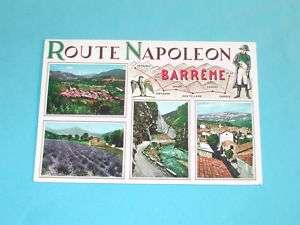 Carte postale BARREME Route Napoleon 04