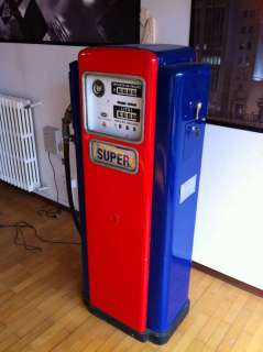 Pompa di benzina vintage WAYNE/CALTEX 1951