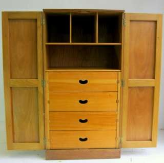 DECO ,ARTS AND CRAFTS STYLE LIMED OAK COMPACT BEDROOM SUITE BY E GOMME