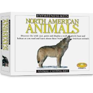 Skullduggery Eyewitness Kit North American Animals Casting
