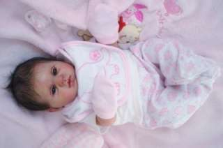 Reborn Supply Doll Kit Baby Girl BLINKIN Donna RuBert